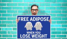 Doctor Who free adipose when you lose weight Art - Wall Art Print Poster   - Kids Children Bedroom Geekery